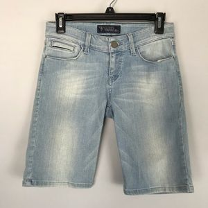 Guess jean Bermuda shorts light wash stretch